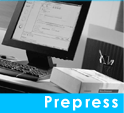 Our Prepress Department utilizes state of the art technology
