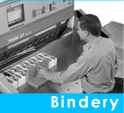 Bindery - Even the best looking printed piece that we do may require the right finishing touch
